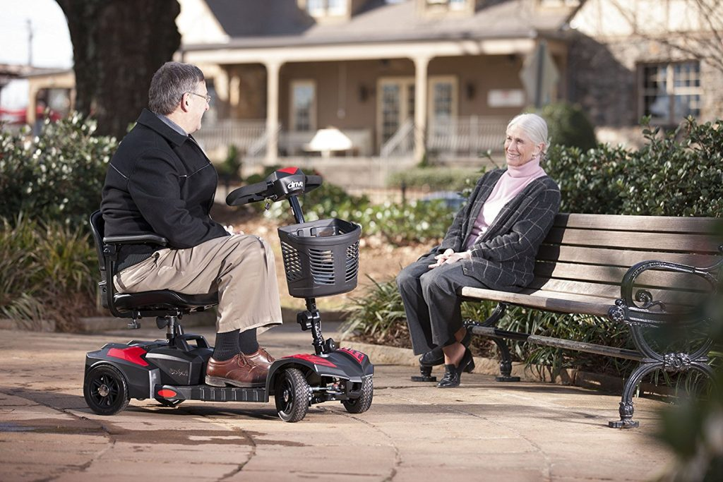 Drive Medical Travel Power Scout Compact Scooter
