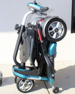 EV Rider Travel Electric Transport Folding Mobility