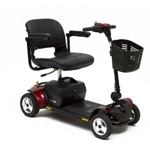 Go-Go Traveler 4-Wheel Pride Elite Mobility Scooter