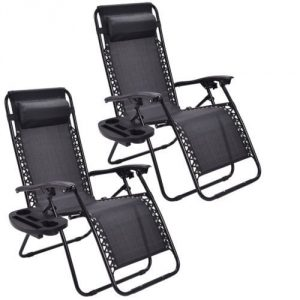 Goplus Outdoors Zero Gravity Chair