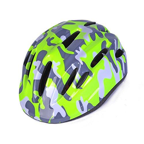 Bingggooo Multicolored Bike Helmet for Kids