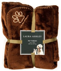 Laura Ashley's Reversible Dog Blanket