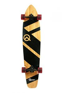 The Quest Super Cruiser Bamboo Longboard