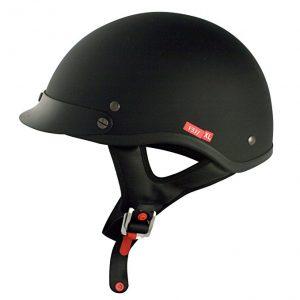 VCAN Cruiser Solid Half Motorcycle Helmet, V531