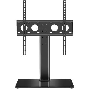 1Homefurnit Universal Table Top TV Stand with Mount