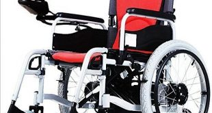 AA Plus Shop Lightweight Electric Wheelchair