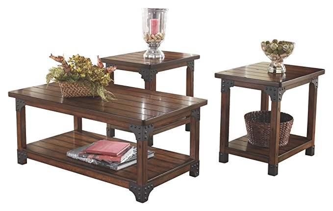 Ashley Furniture Signature Design – Set of 3 Tables