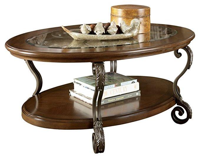 Ashley Furniture Nestor Glass Table