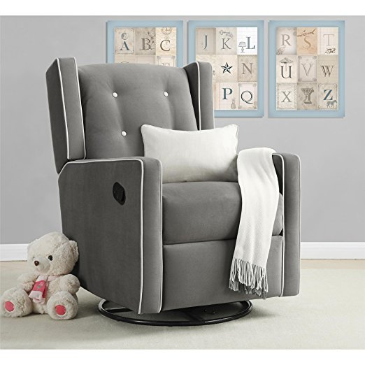 Baby Relax Mikayla Swivel Gliding Recliner Chair