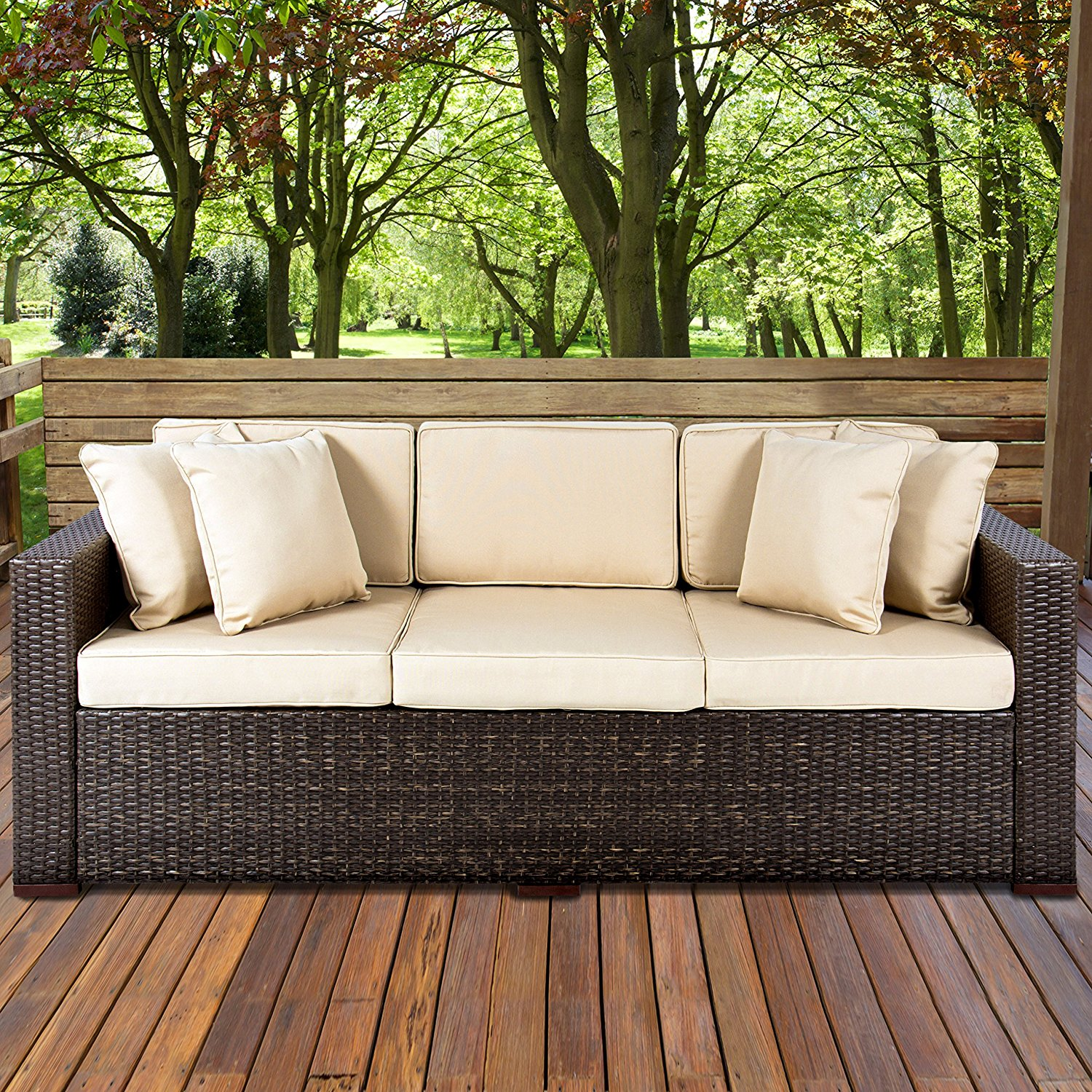 Pleasant Top 10 Best Patio Sofas In 2019 Top Best Pro Review Download Free Architecture Designs Sospemadebymaigaardcom