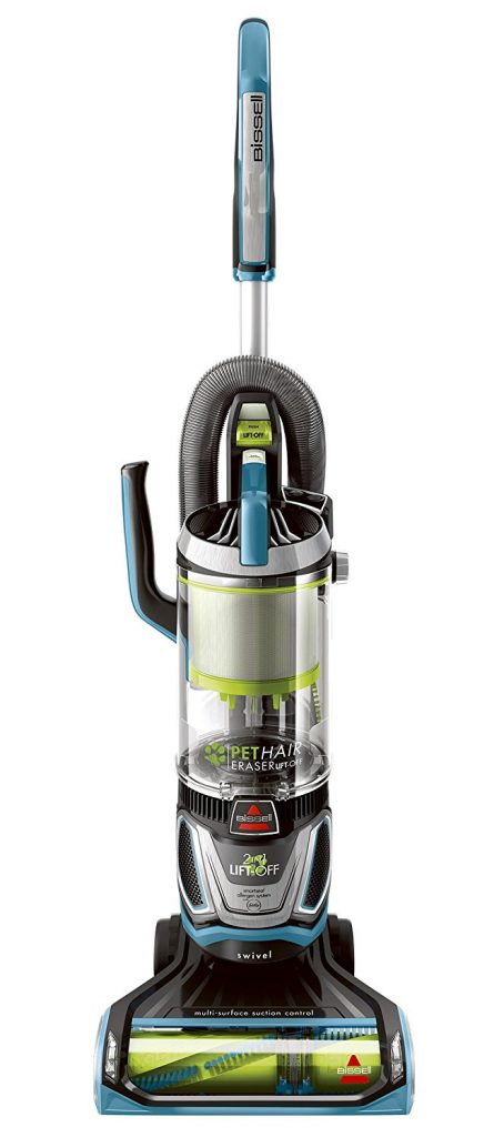 Bissell Upright Vacuum Lift Off Bagless Pet Hair Eraser