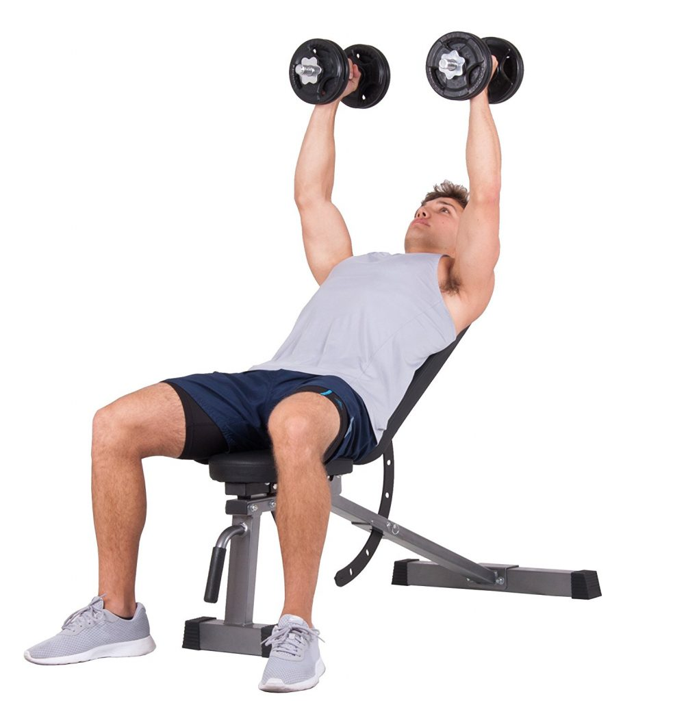 Body Power Multi-Purpose Adjustable Weight Bench