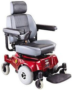 CTM Mobility Scooter Compact Power Electric Wheelchair