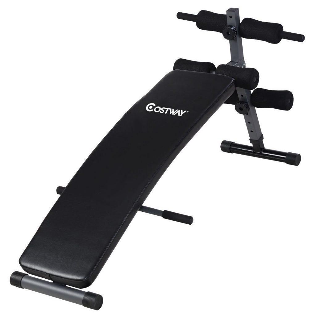 CostWay Adjustable Arc-Shaped Workout Bench