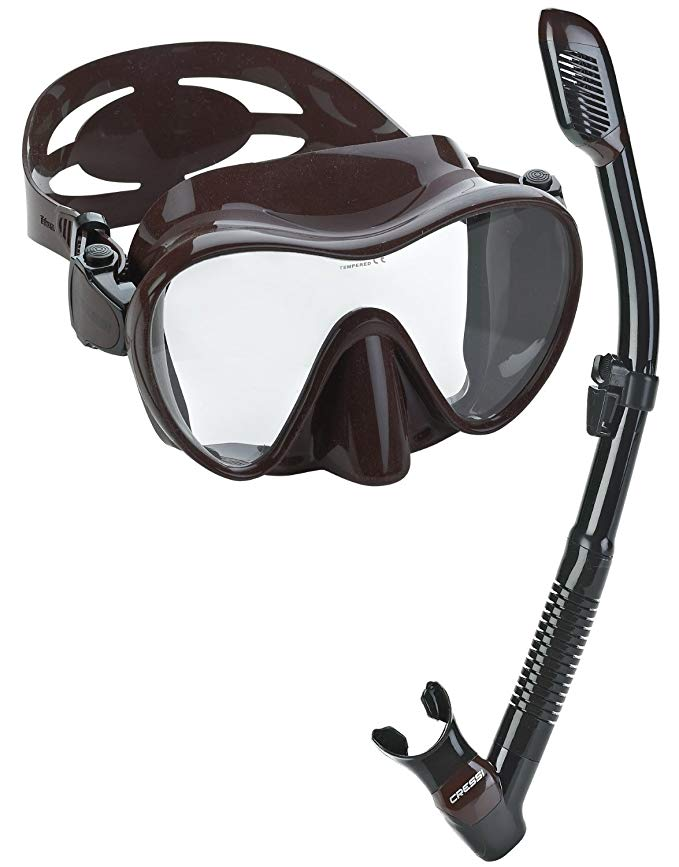 Cressi Scuba Diving Snorkeling Freediving Mask