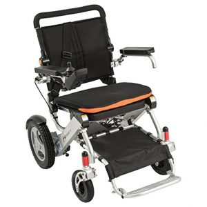 F KD FoldLite Lightweight Portable and Folding Electric Wheelchair