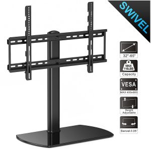 Fitueyes Universal Table Top TV Stand with Mount, TT107002GB