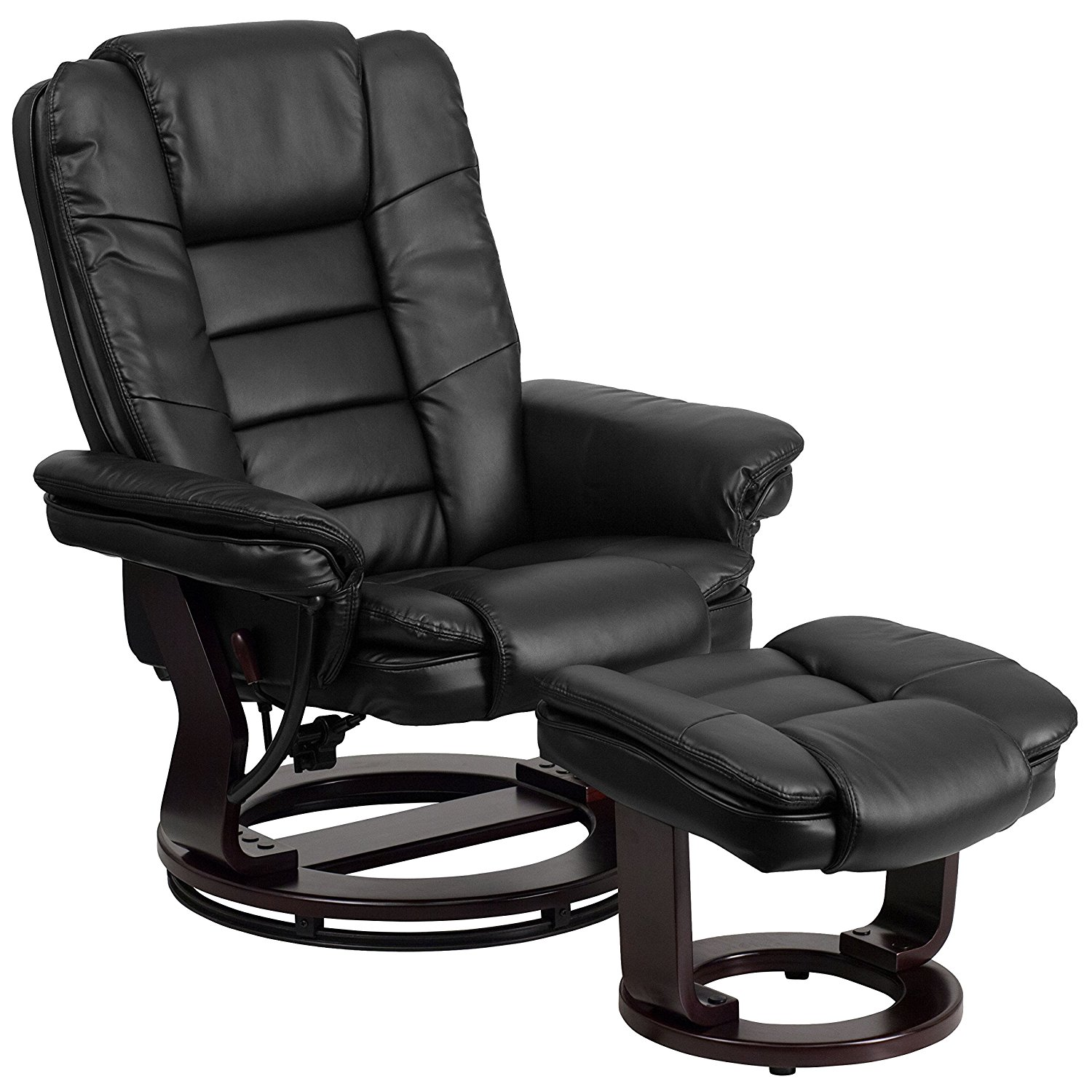 Flash Furniture Contemporary Leather Recliner Chair