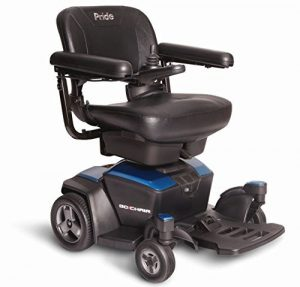 GO-CHAIR Pride Travel Electric Wheelchair