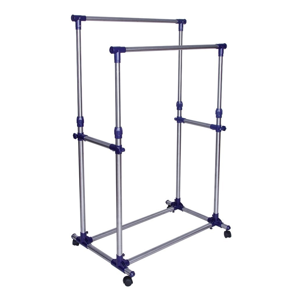 Garment Clothing Rack Double Rods from SONGMICS