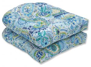 Gilford Baltic Wicker Outdoor Seat Cushion by Pillow Perfect