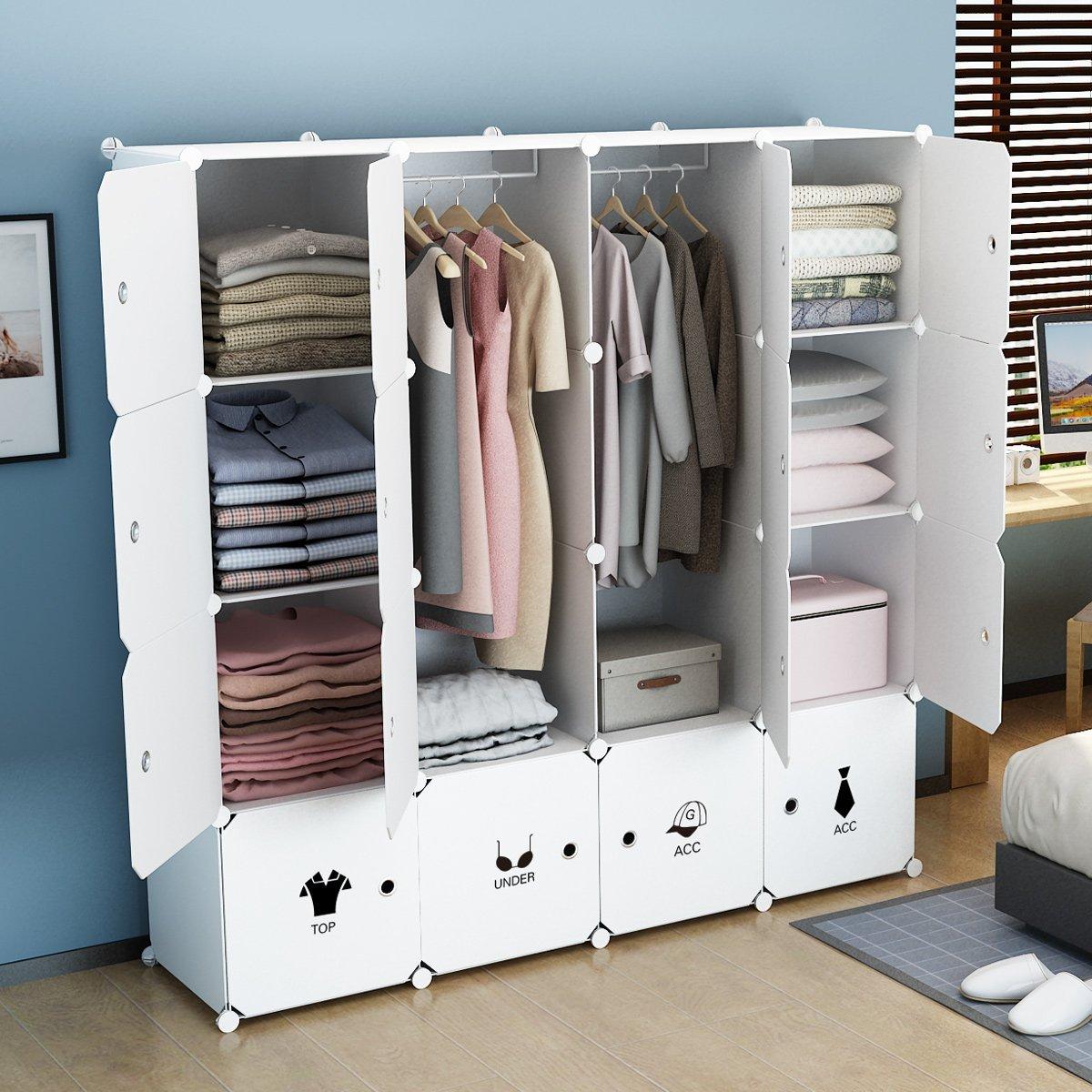 KOUSI Wardrobe Clothes Closet