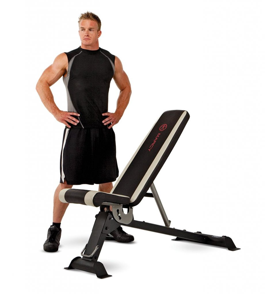 Marcy Utility Adjustable Weight Bench, SB-670