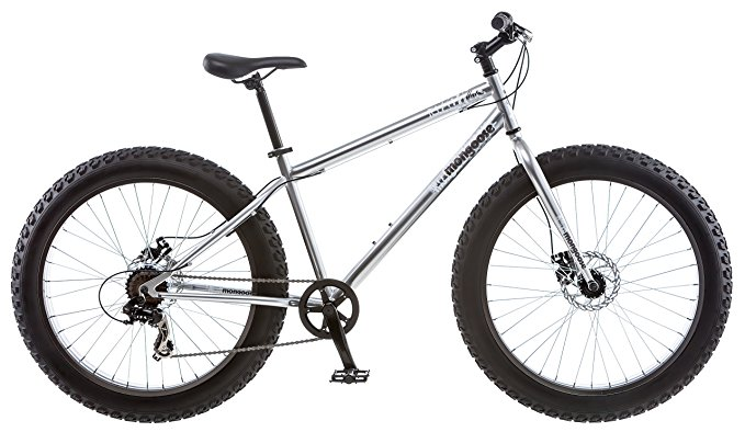 Mongoose Men's Malus Fat Tire Bike
