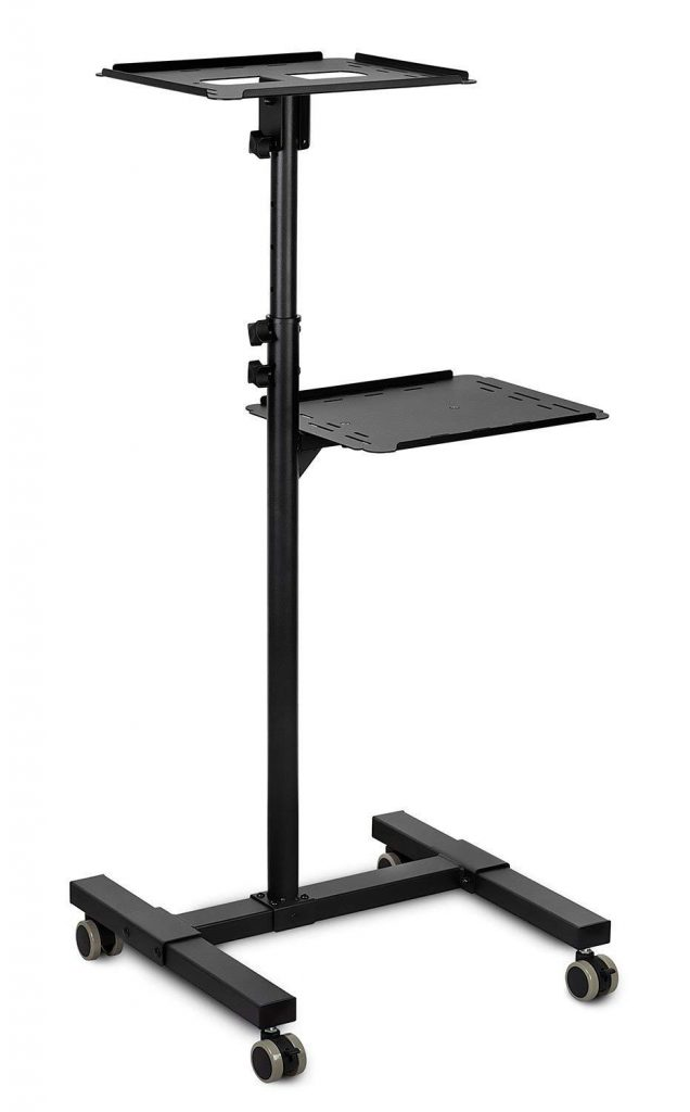 Mount-It Portable Height Adjustable Projector Stand