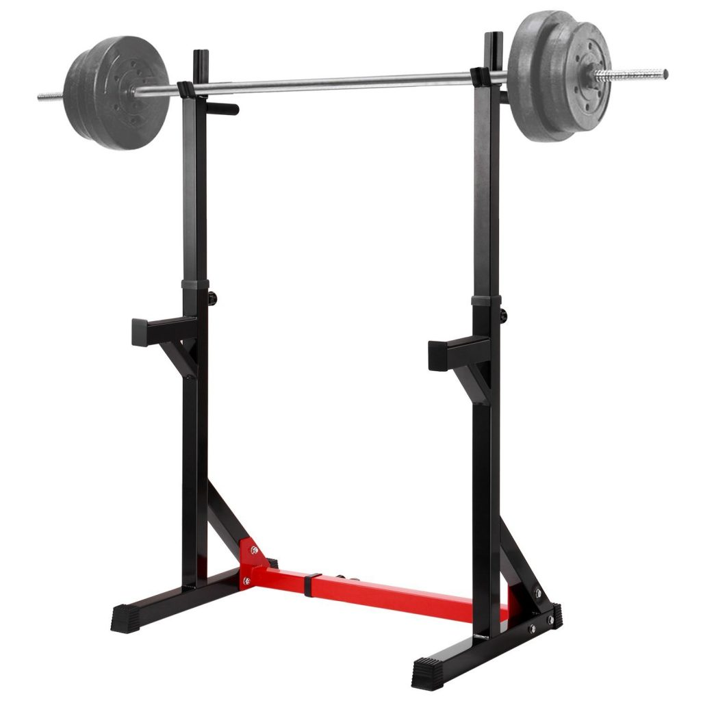 Ollieroo Multi-Functional Adjustable Fitness Squat Rack