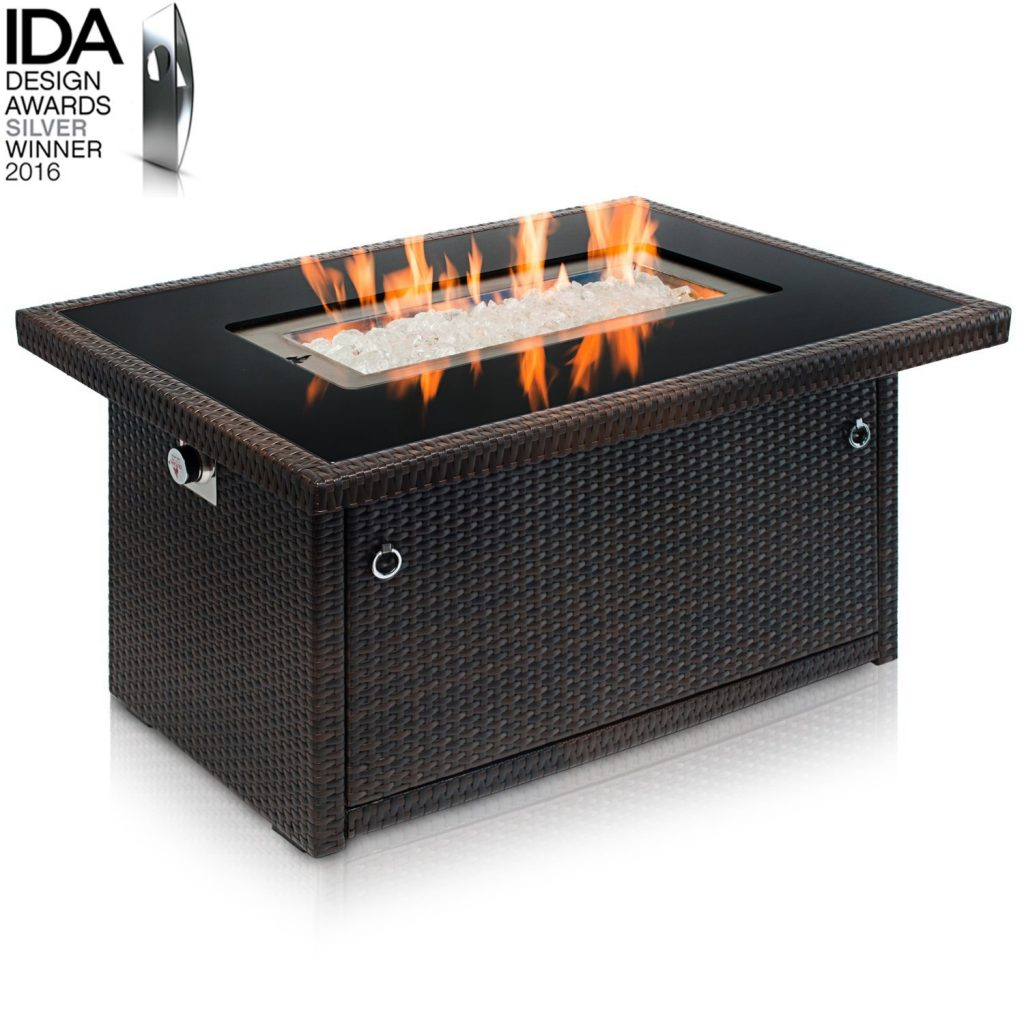 Outland Living Series Propane Fire Table, 401-Espresso
