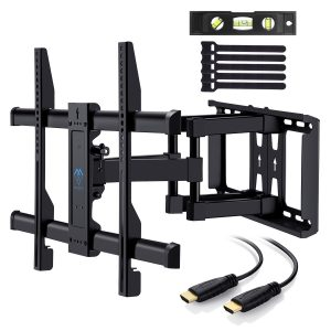 PERLESMITH TV Wall Mount Dual Articulating Arms