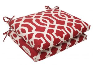 Pillow Perfect Outdoor New Geo Square Seat Cushion