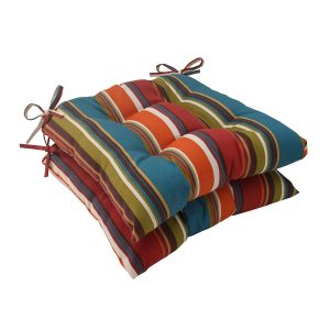 Pillow Perfect Outdoor Westport Tufted Seat Cushion