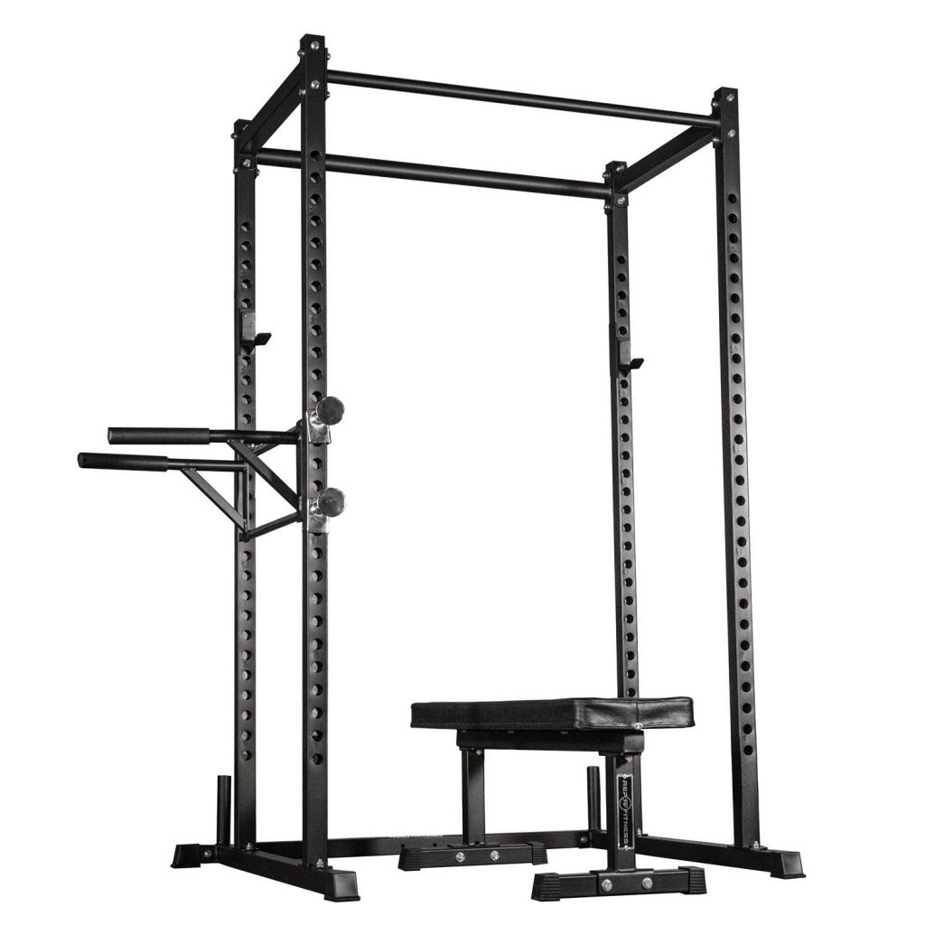 Rep Fitness Dual Pull-up Bars Squat Rack