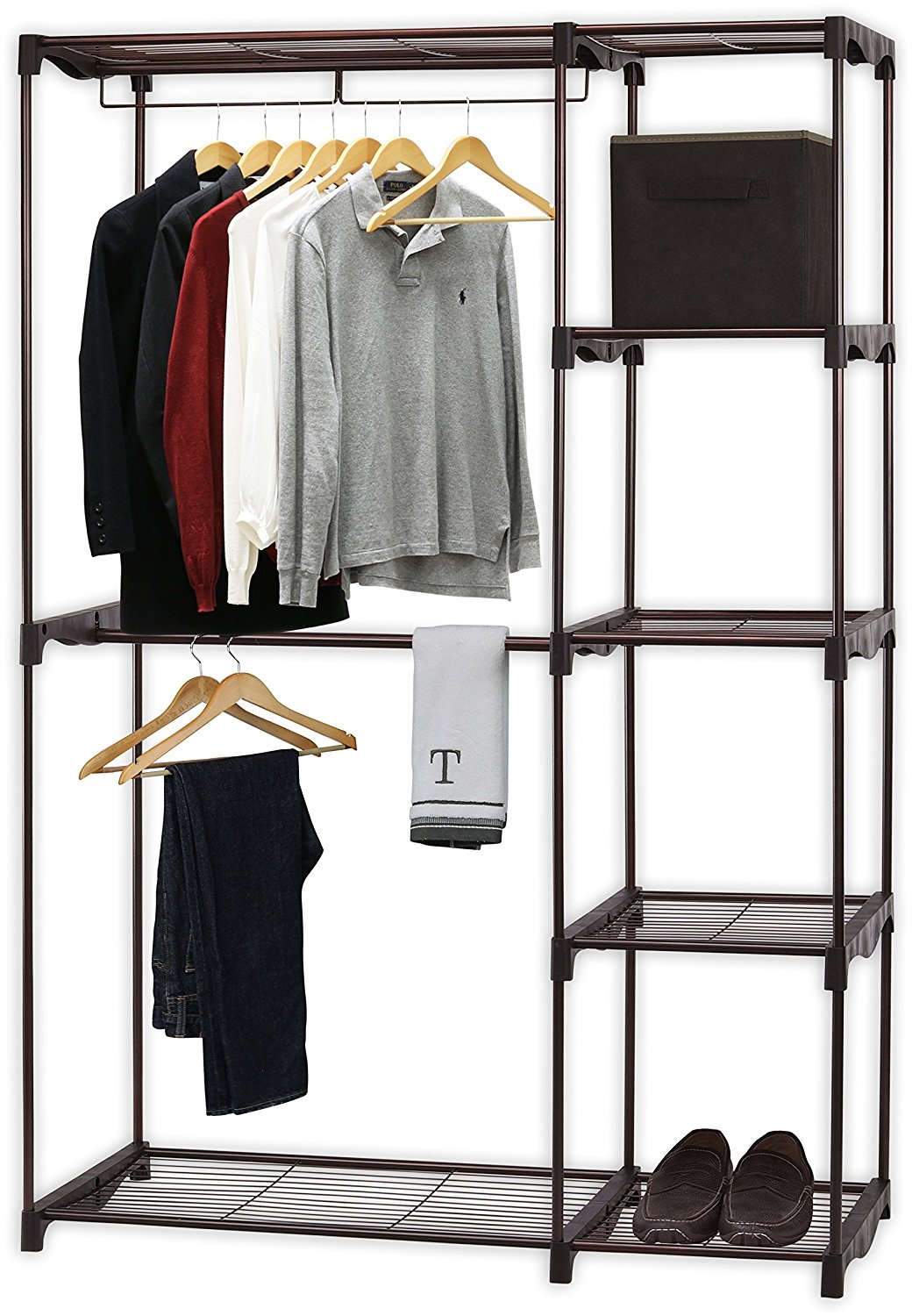 Simple Houseware Freestanding Clothes Closet