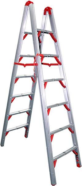 Telesteps OSHA Complaint Double Sided Folding Ladder