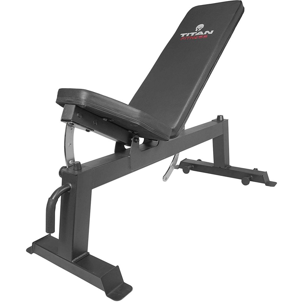 Titan Fitness Adjustable Weight Bench