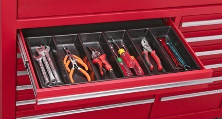 US General Six Compartment Drawer Tool Organizer, 99729