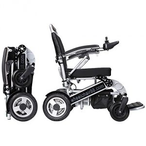 Wheelchair88 PW-1000XL Foldawheel Electric Motorized Wheelchair