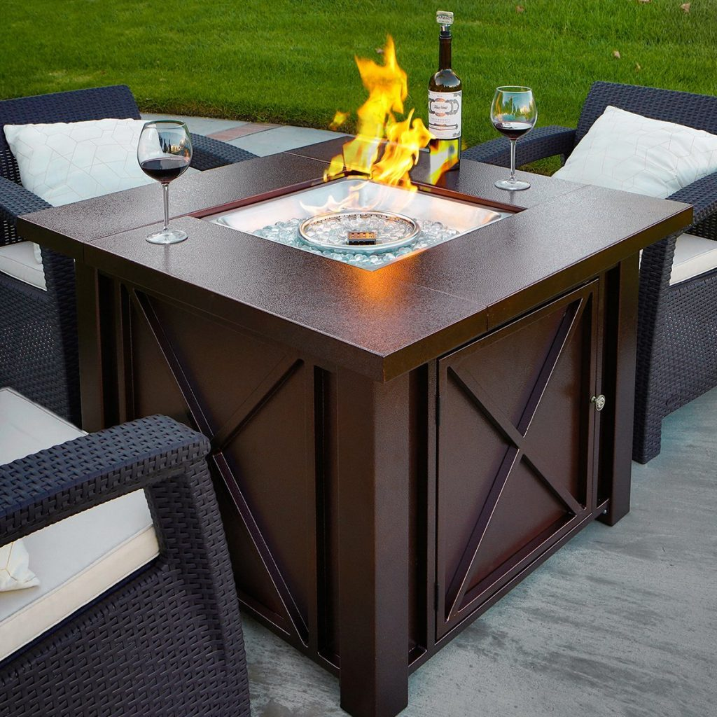 Top Best Propane Fire Tables Top Best Pro Review - Octagon propane fire pit table