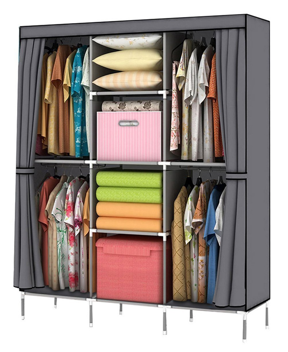 YOUUD Wardrobe Storage Clothes Closet