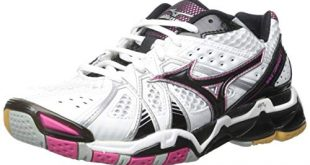 8. Mizuno Women's Wave Tornado 9 Volleyball Shoe