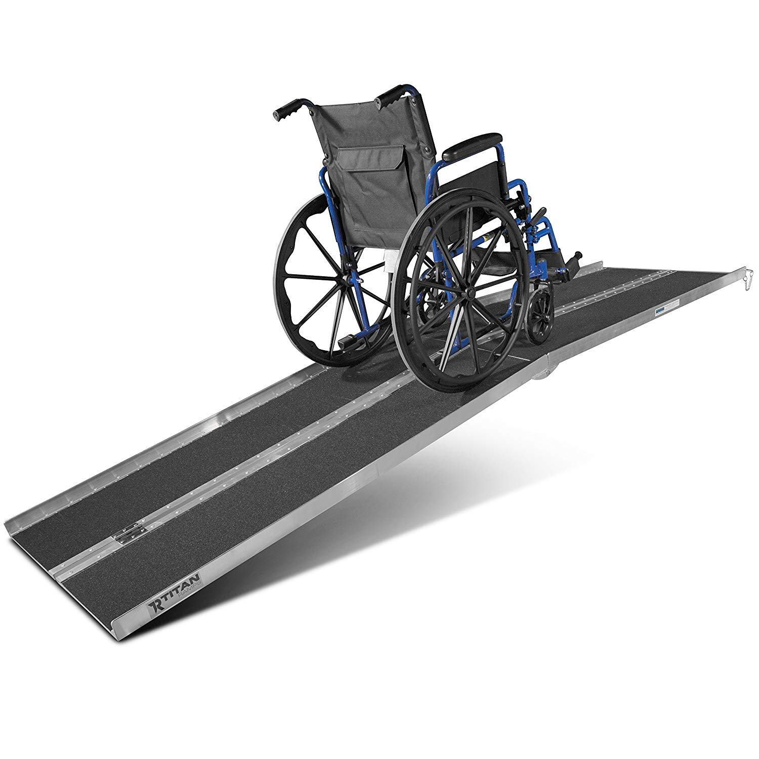 Titan Ramps 10' ft Aluminum Multifold Wheelchair Scooter Mobility