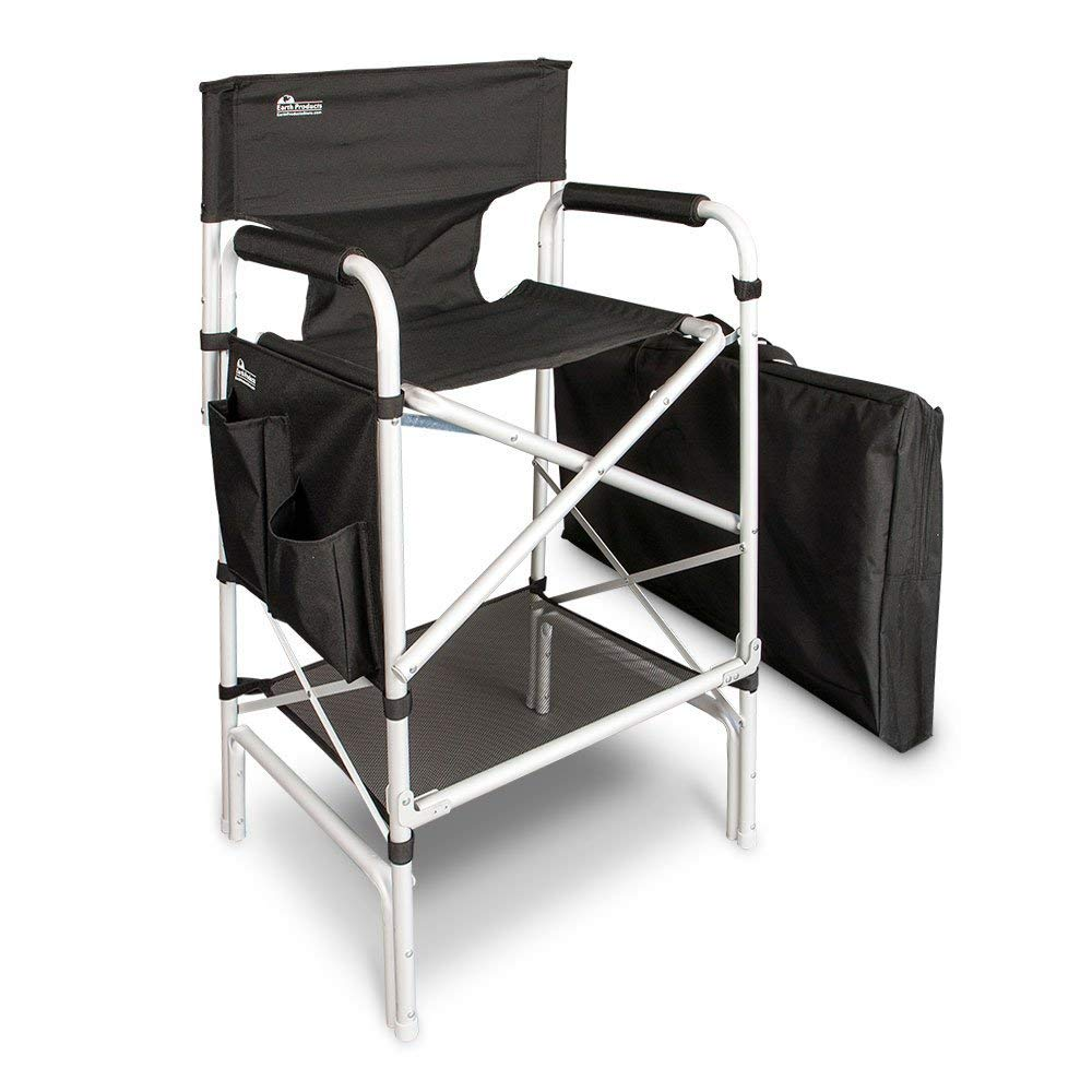 Earth Heavy Duty VIP Tall Aluminum Director Chair