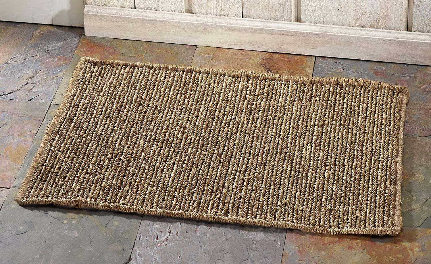 HF by LT Boho Market Sophia Braided Seagrass Rug