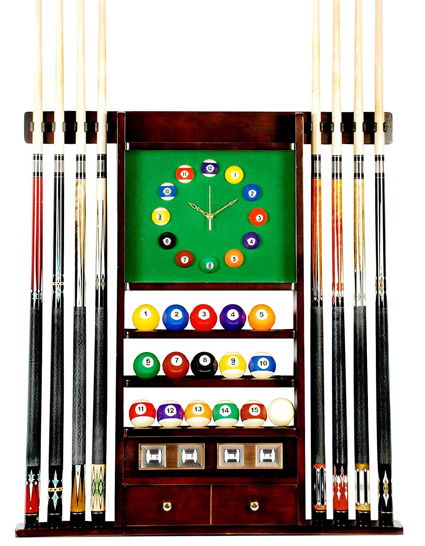 Iszy Billiards 8 Pool Cue Rack