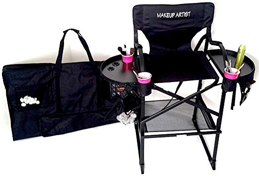 PRESALE #65TTR TUSCANYPRO Tall Makeup Chair w:CARRY BAG
