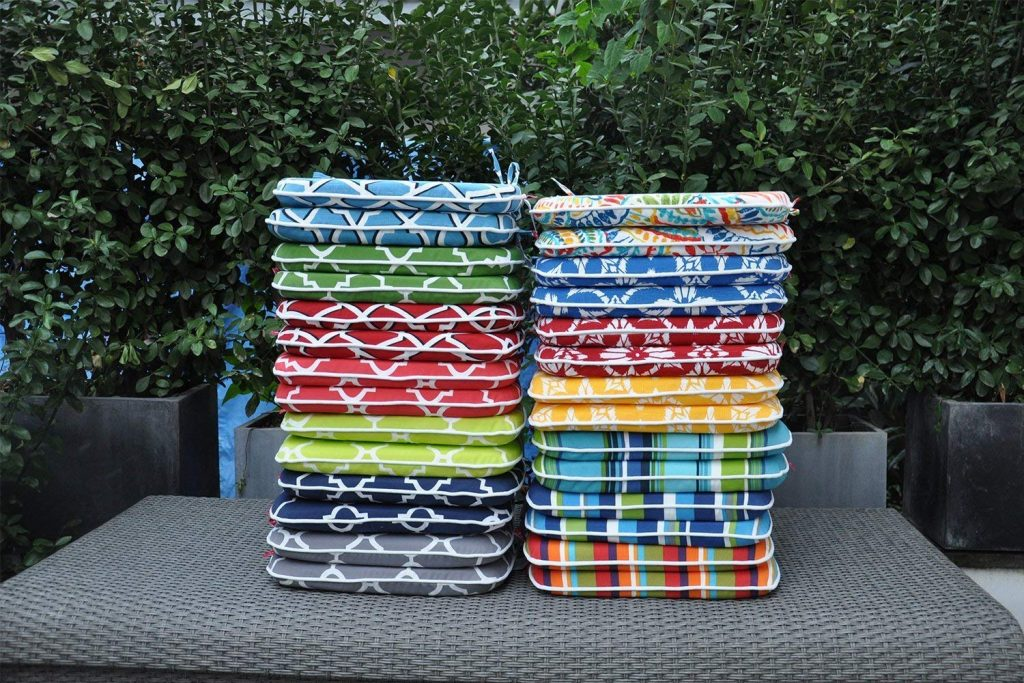 PacifiCasual Indoor/Outdoor Patio Home Chair Cushions