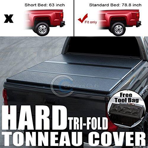 Velocity Concepts Hard Tonneau Cover Tri-Fold Tool Bag 09 - 16 Ram Dodge 5.7 Ft